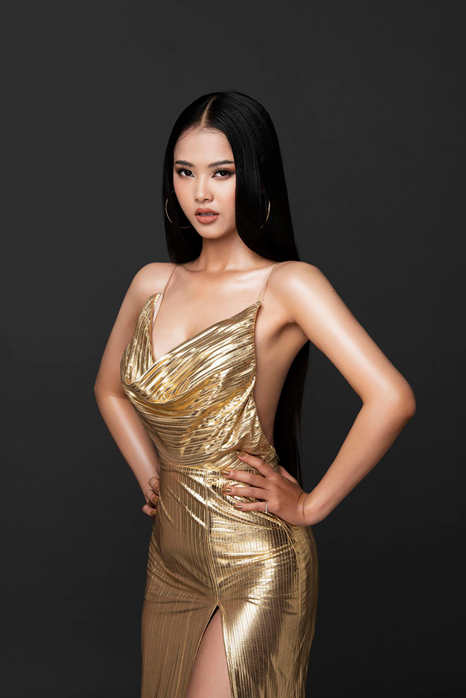 Nhan sắc của cô gái có mái tóc dài gần 1 mét dự thi Hoa hậu Việt Nam 2020 - Ảnh 7.