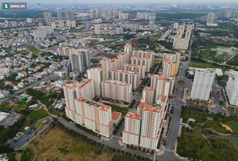 Toàn cảnh khu tái định cư đồ sộ ở TP.HCM có hàng nghìn căn hộ không ai ở, đang chờ bán đấu giá - Ảnh 11.
