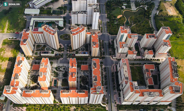 Toàn cảnh khu tái định cư đồ sộ ở TP.HCM có hàng nghìn căn hộ không ai ở, đang chờ bán đấu giá - Ảnh 7.
