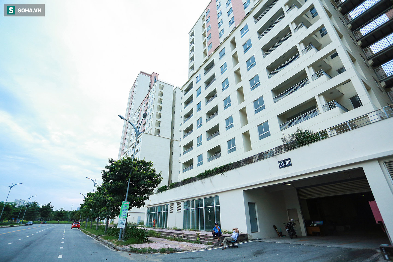 Toàn cảnh khu tái định cư đồ sộ ở TP.HCM có hàng nghìn căn hộ không ai ở, đang chờ bán đấu giá - Ảnh 17.