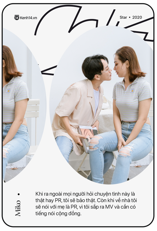 Gặp Miko Lan Trinh và bạn trai chuyển giới: Ra ngoài tôi sẽ nói chuyện hẹn hò anh là thật, còn về nhà tôi phải thuyết phục mẹ đây là PR - Ảnh 3.