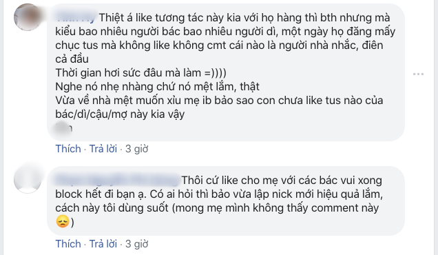 Nỗi ám ảnh khi người thân chơi Facebook: Bị bố mẹ bắt tương tác vì sợ...  các bác buồn - Ảnh 3.