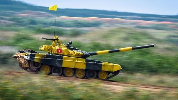 Ra quân thi đấu trận đầu tại Tank Biathlon 2020: Việt Nam tiến lên! - Ảnh 1.