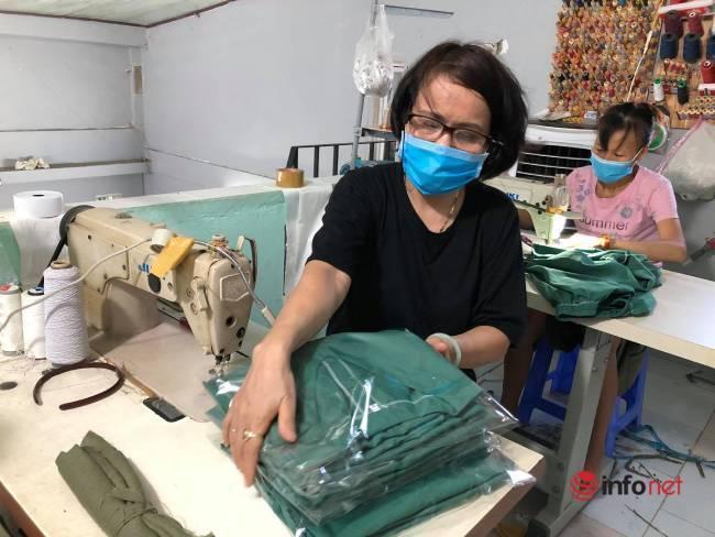 Phụ nữ Đà Nẵng bảo nhau may áo blouse hỗ trợ y bác sỹ chống dịch - Ảnh 5.