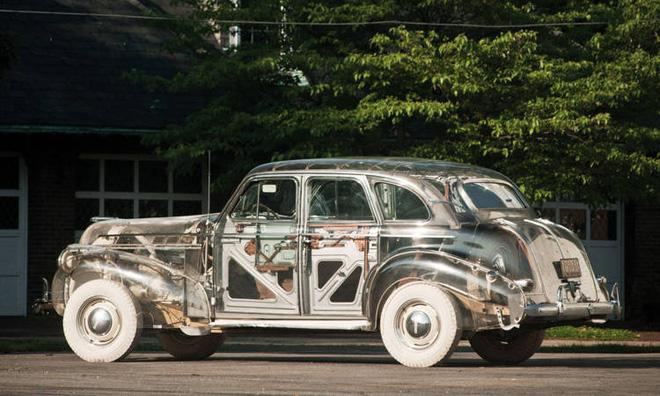 Pontiac Ghost Car: Chiếc ô tô trong suốt đầu tiên được sản xuất tại Mỹ với giá hơn 7 tỷ đồng - Ảnh 5.
