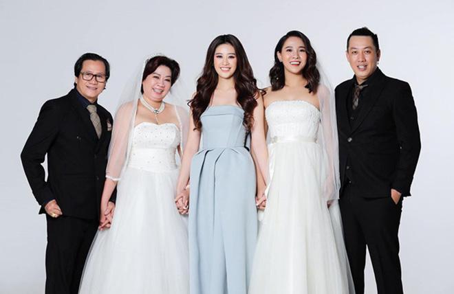 Danh tính gây bất ngờ về chị dâu xinh đẹp hoa hậu Khánh Vân - Ảnh 1.