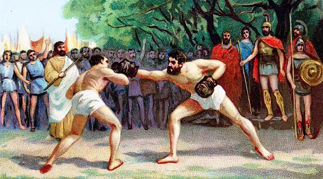Môn võ tàn bạo & sàn đấu cổ xưa đầy chết chóc đến mức bị Hoàng đế La Mã cấm - Ảnh 2.