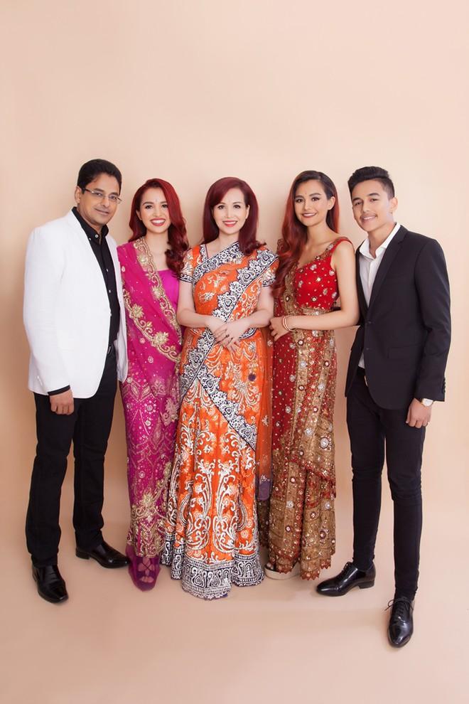 Hoa Hậu Việt Nam biết 5 ngôn ngữ, chịu điều tiếng vì lấy chồng Ấn Độ giờ ra sao? - Ảnh 5.