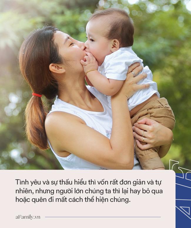 Ngoài câu nói Bố/mẹ yêu con thì đây là những cách giúp cha mẹ thể hiện tình yêu với trẻ mỗi ngày - Ảnh 2.