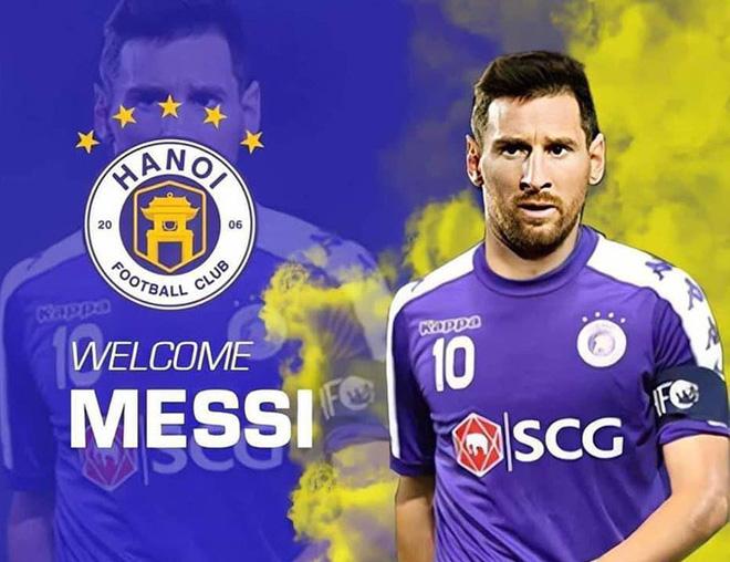 Quế Ngọc Hải bắt trend hay ho, quyết đưa Messi về... Manchester United - Ảnh 3.
