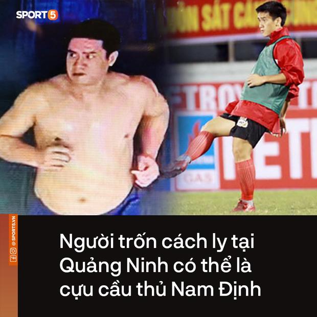 Cầu thủ Nam Định nhận ra người trốn cách ly tại Quảng Ninh: Từng là hậu vệ có tài, dùng giấy tờ giả và đổi tên khi nhập cảnh - Ảnh 1.