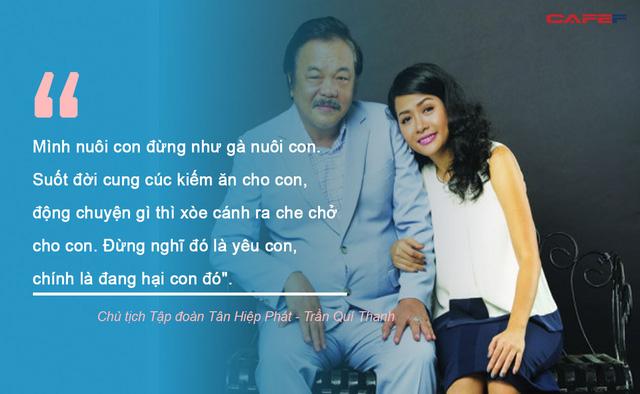 Từ tình yêu thương vô điều kiện đến bài học dạy con làm người, làm giàu của những ông bố nổi tiếng Việt Nam: Hãy đứng trên năng lực của chính mình! - Ảnh 3.