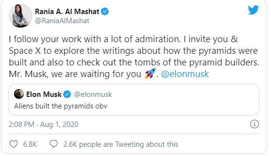 Elon Musk tuyên bố kim tự tháp được xây dựng bởi người ngoài hành tinh - Ảnh 2.