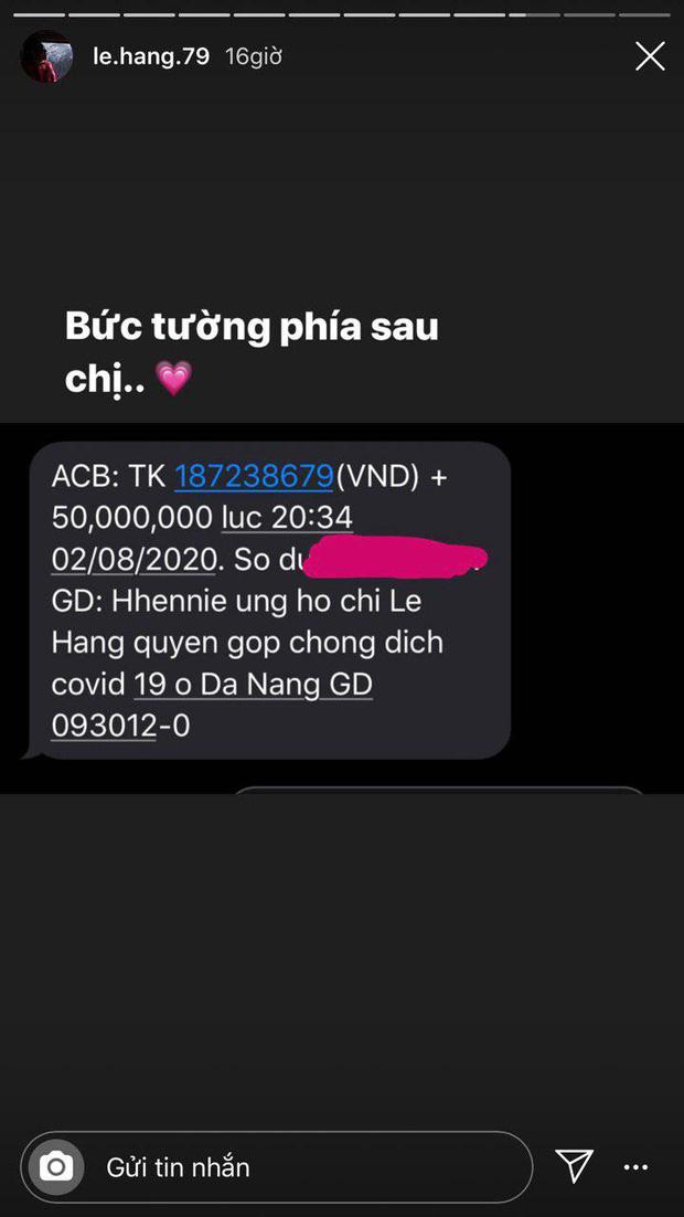 Sao Vbiz đồng lòng hỗ trợ Đà Nẵng chống dịch: Denis - Trung Quân kêu gọi gần 200 triệu, H'Hen Niê nói rõ lí do góp 50 triệu - Ảnh 2.