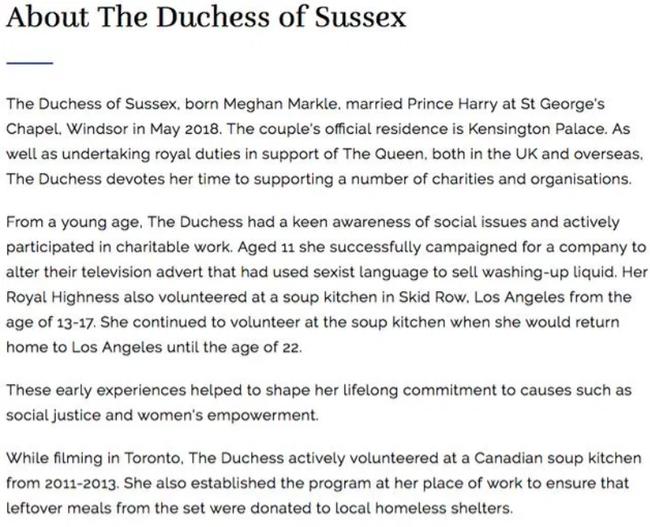 Trước hành động vô lễ của Meghan Markle, hoàng gia có động thái phản hồi đầy cứng rắn cho thấy nữ công tước hoàn toàn bị thất sủng - Ảnh 1.