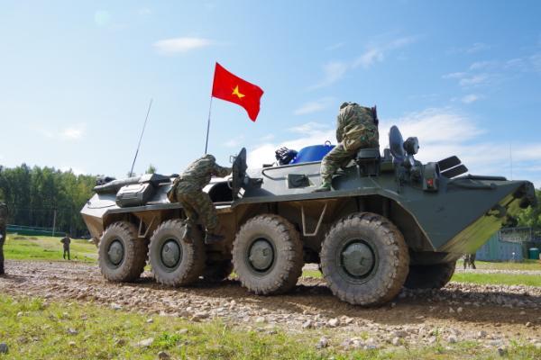 Quá xuất sắc, Việt Nam vào thẳng bán kết Tank Biathlon 2020; Đội tuyển phòng hóa về đích - Ảnh 5.