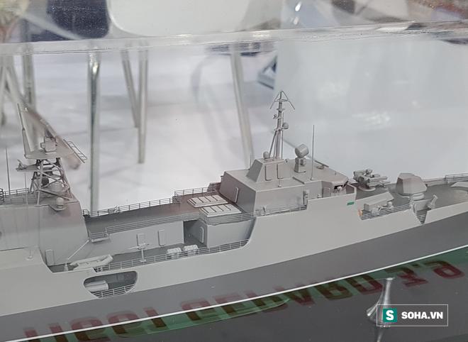 Nga chào hàng tàu Gepard mang 24 tên lửa Kalibr: Đột phá lớn - Xứng tầm soái hạm mini - Ảnh 3.
