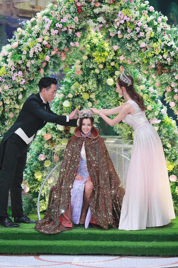 Tân Hoa hậu Hong Kong vừa đăng quang đã gây tranh cãi: Đẹp hiếm có lại giống Địch Lệ Nhiệt Ba, bất ngờ khi kéo đến ảnh lộ chiều cao - Ảnh 2.