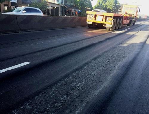 """Quốc lộ 5 hằn lún như """"luống cày"""": Dừng thu phí nếu không được sửa chữa - Ảnh 2."""