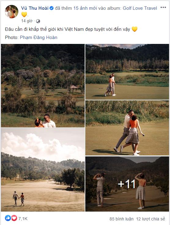 MC Thu Hoài hạnh phúc trong bộ ảnh lãng mạn với chàng hoàng tử điển trai - Ảnh 1.