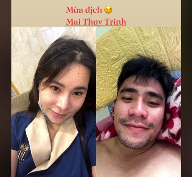 Cầu thủ Việt đưa người yêu đi chơi nhân đợt nghỉ dịch, người không thể về thăm vợ con vì thành phố đóng cửa - Ảnh 3.