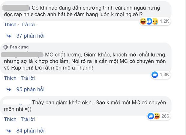 Trấn Thành gây tranh cãi khi làm MC Rap Việt, Trịnh Thăng Bình chỉ ra 3 điểm bênh vực khiến dân tình phải gật gù - Ảnh 5.