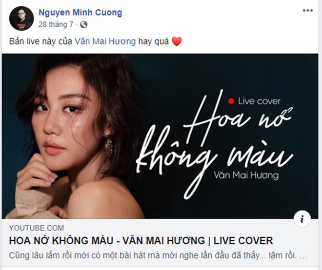 """Thực hư việc Văn Mai Hương hát """"Hoa nở không màu"""" trái phép - Ảnh 1."""