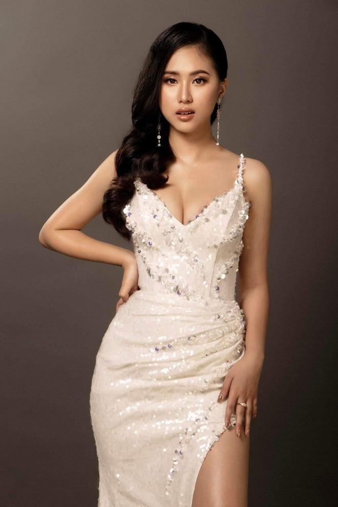 Rich kid đi thi Hoa hậu đặt mục tiêu lọt vào top 3, tiết lộ vừa trúng tuyển một loạt trường ở Mỹ - Ảnh 1.