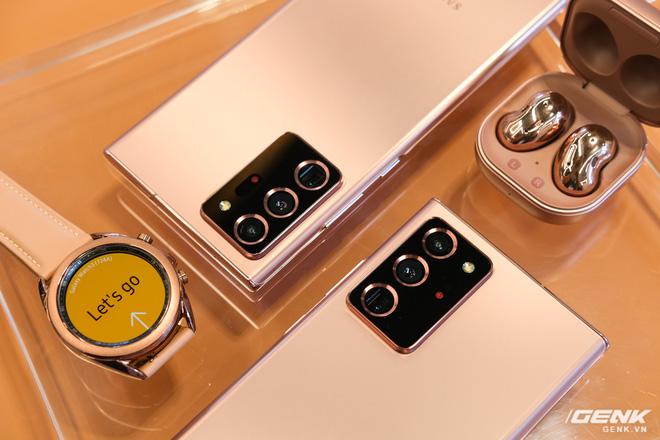 Trên tay Galaxy Note20/Note20 Ultra vừa ra mắt: Một cứng cáp, một mềm mại, màu đẹp xuất sắc, hợp cả nữ lẫn nam - Ảnh 15.