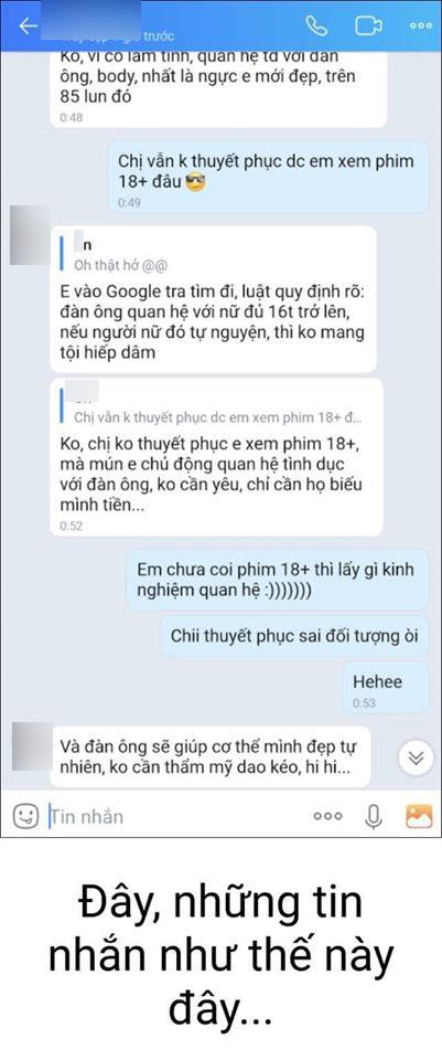 Vụ việc hot nhất đêm qua: Con trai tố người tình của mẹ nhắn tin gạ gẫm em gái chưa đầy 16 tuổi gửi ảnh khỏa thân - Ảnh 9.