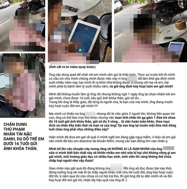 Vụ việc hot nhất đêm qua: Con trai tố người tình của mẹ nhắn tin gạ gẫm em gái chưa đầy 16 tuổi gửi ảnh khỏa thân - Ảnh 10.
