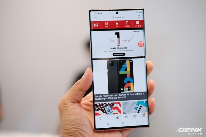 Trên tay Galaxy Note20/Note20 Ultra vừa ra mắt: Một cứng cáp, một mềm mại, màu đẹp xuất sắc, hợp cả nữ lẫn nam - Ảnh 10.