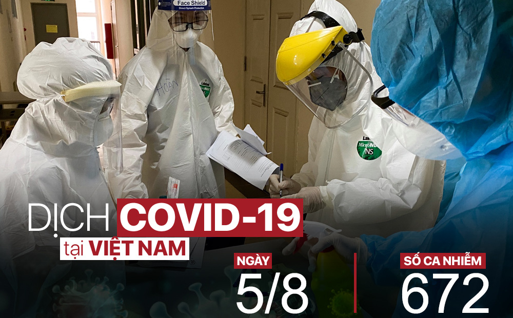 Sáng nay 5/8, thêm 2 ca mắc Covid-19 liên quan đến Bệnh viện Đà Nẵng; Bệnh nhân 33 tuổi tiếp xúc với nhiều người tại viện