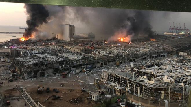 Vụ nổ cực lớn ở Li-băng: Nga công bố ảnh vệ tinh gây sốc - Ảnh 9.