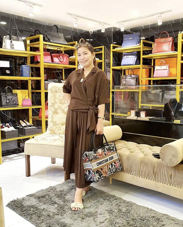 Màn diện đồ bộ xách túi Hermes, Dior của hội bạn thân Philippines giàu sụ được dân mạng tích cực share lại - Ảnh 5.