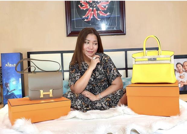Màn diện đồ bộ xách túi Hermes, Dior của hội bạn thân Philippines giàu sụ được dân mạng tích cực share lại - Ảnh 6.