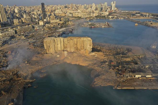 Vụ nổ cực lớn ở Li-băng: Nga công bố ảnh vệ tinh gây sốc - Ảnh 11.
