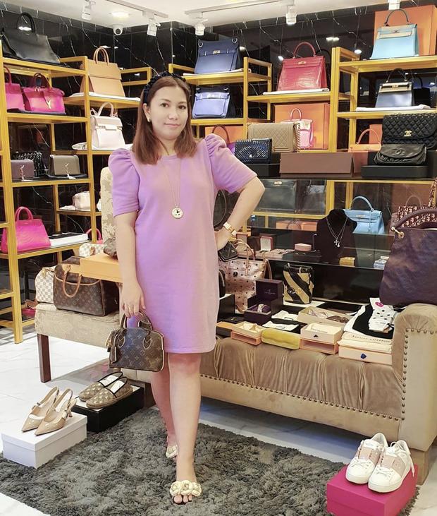 Màn diện đồ bộ xách túi Hermes, Dior của hội bạn thân Philippines giàu sụ được dân mạng tích cực share lại - Ảnh 8.