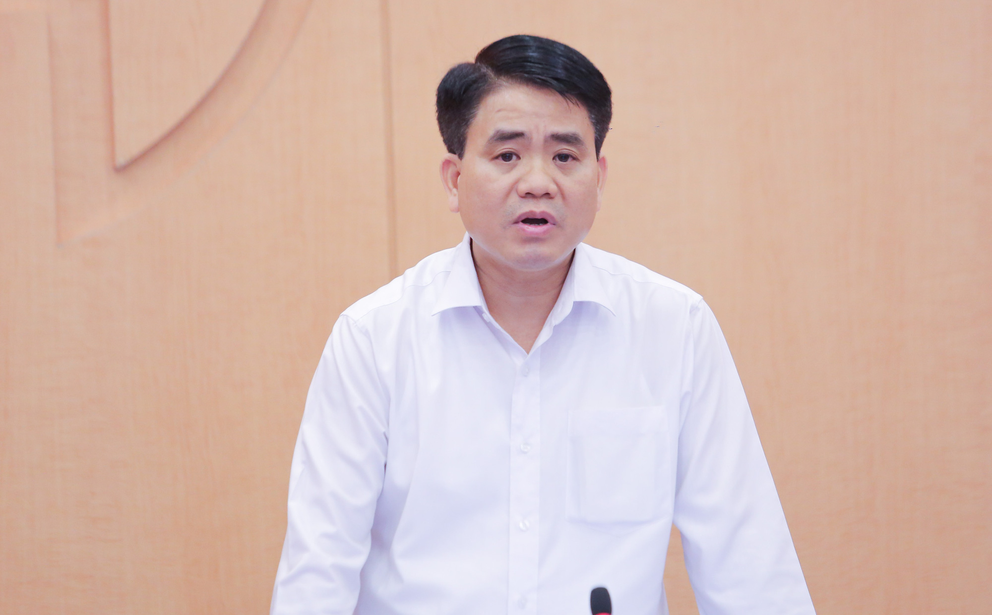 Chủ tịch Nguyễn Đức Chung ''xin'' ghi nhận ca mắc Covid-19 số 751 cho Hà Nội