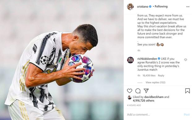 Ronaldo viết tâm thư gửi tới fan hâm mộ sau kết quả đáng thất vọng tại Champions League, lập tức nhận về hàng triệu lượt thả tim - Ảnh 1.