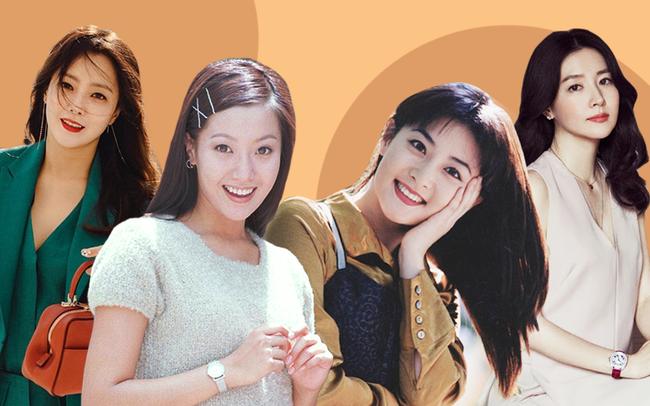 Trước thời bộ ba Kim Tae Hee - Song Hye Kyo - Jun Ji Hyun khuấy đảo Kbiz thì hai trường phái nhan sắc bất bại này đã từng làm cả Châu Á mê mẩn - Ảnh 2.