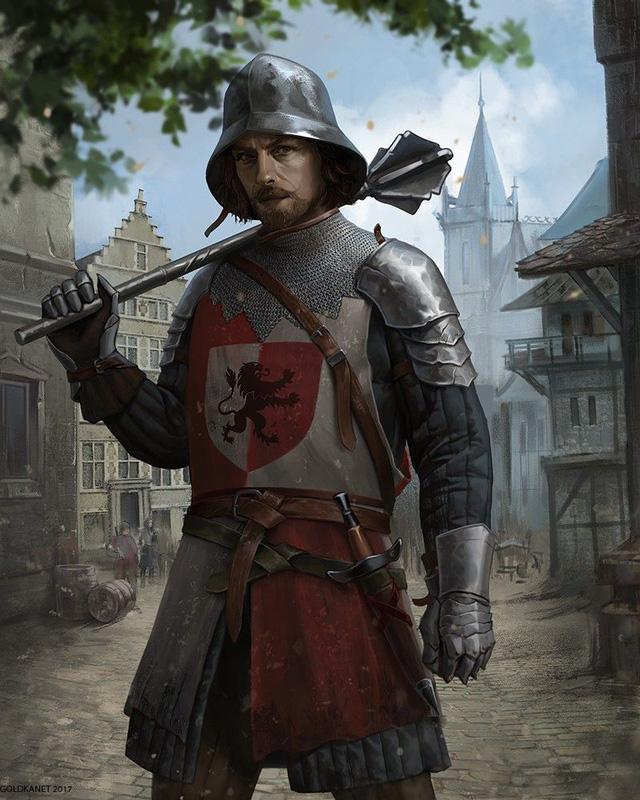 Tại sao chùy châu Âu được coi là tử thần trên chiến trường Trung Cổ? - ảnh 1