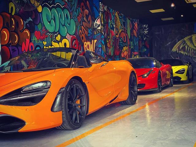 McLaren 720S Spider thứ 7 về Việt Nam cập bến Sài Gòn, nằm trong garaga toàn siêu xe gây chú ý - Ảnh 1.