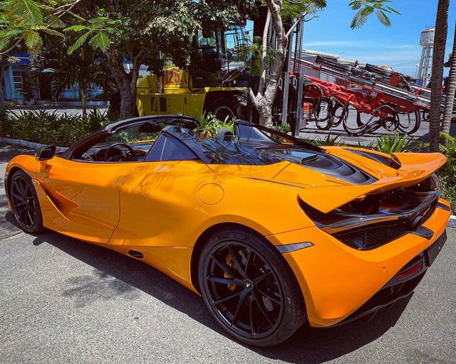 McLaren 720S Spider thứ 7 về Việt Nam cập bến Sài Gòn, nằm trong garaga toàn siêu xe gây chú ý - Ảnh 5.