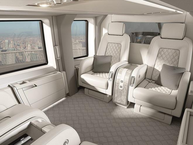 Có gì thú vị bên trong trực thăng 10 chỗ ngồi siêu sang giá 14 triệu USD vừa được Airbus ra mắt - Ảnh 6.