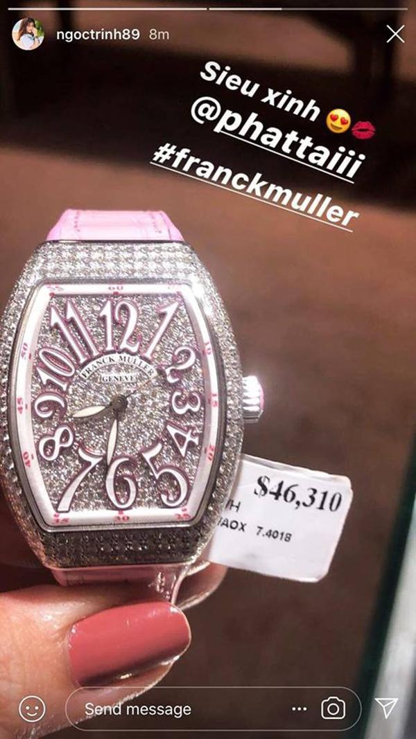 Choáng với bộ sưu tập đồng hồ tiền tỷ của Nữ hoàng nội y Ngọc Trinh - Ảnh 8.