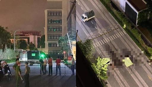 Xác định nguyên nhân ban đầu vụ đôi nam nữ nhảy từ tầng cao chung cư tại Hà Nội - Ảnh 1.