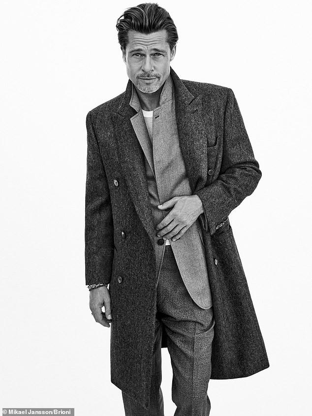 Phong độ tuổi 56 của Brad Pitt khiến phái nữ mê mẩn - Ảnh 2.