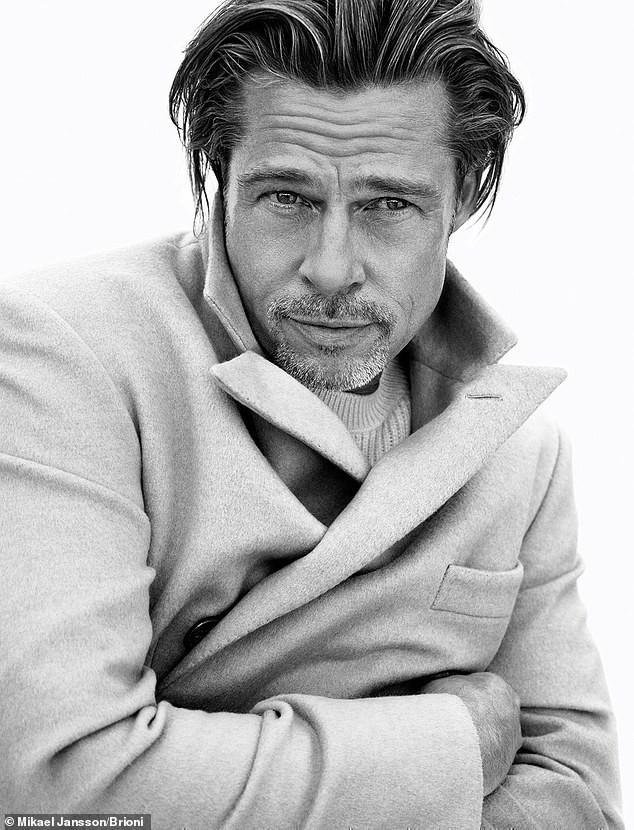 Phong độ tuổi 56 của Brad Pitt khiến phái nữ mê mẩn - Ảnh 4.