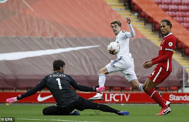 Hậu vệ số một thế giới mắc sai lầm, Liverpool toát mồ hôi rượt đuổi tỉ số với Leeds United - Ảnh 2.